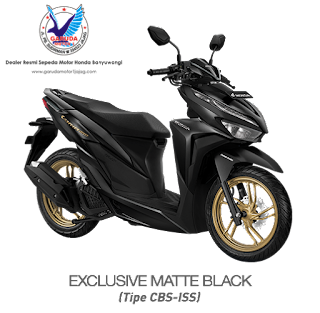 vario 150 exclusive matte black terbaru 2020