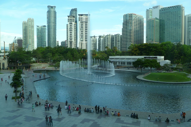 Fontanna w Kuala Lumpur