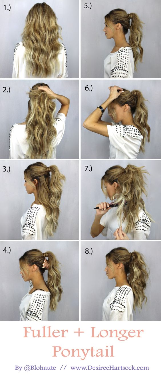 Fuller Longer Ponytail