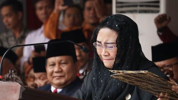 Air Mata Rachmawati Tumpah saat Bacakan Pidato Kebangsaan 'Tahun Vivere Pericoloso'