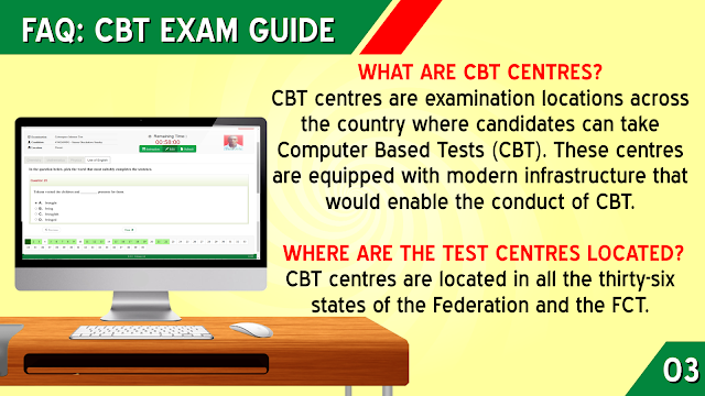 WHERE ARE JAMB CBT CENTERS LOCATED?