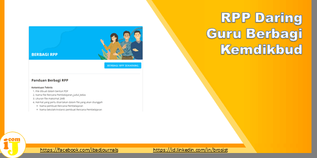 RPP Daring Guru Berbagi Kemdikbud.go.id