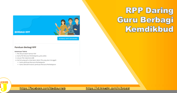 Rpp Daring Guru Berbagi Kemdikbud Go Id Ij Com