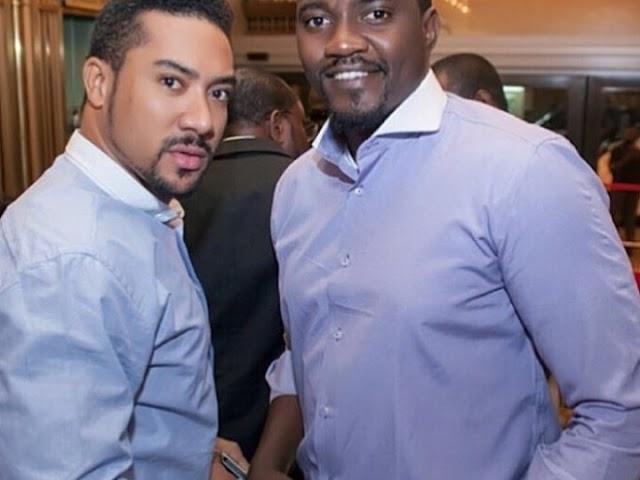 Ghanaian actor Majid Michel turns barber – Gives John Dumelo nice haircut (Photos)