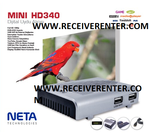 NETA MINI HD340 RECEIVER BISS KEY OPTION