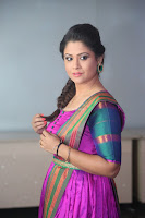 Shilpa Chakravarthy in Purple tight Ethnic Dress ~  Exclusive Celebrities Galleries 073.JPG