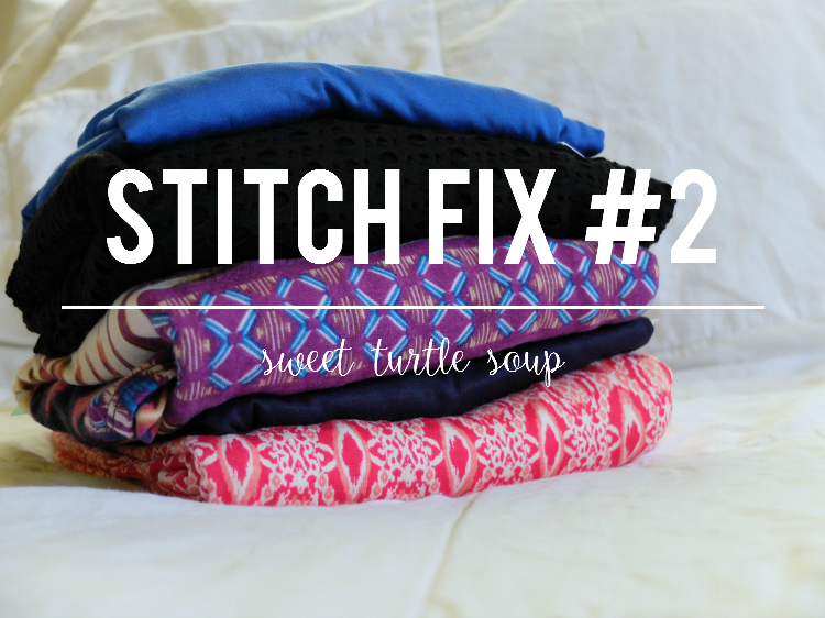 Sweet Turtle Soup: Stitch Fix #2 (maternity)