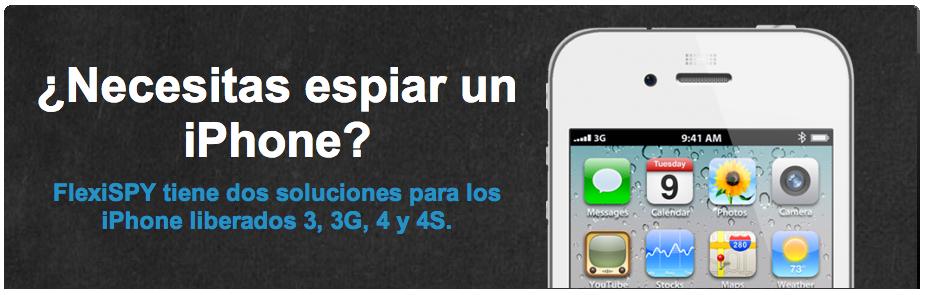 Seguridad Apple: Espiar iPhone con FlexiSpy y pillarlo con Oxygen