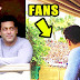 Salman Khan Wishing Eid Mubarak To Fans Outside House Galaxy Apartments