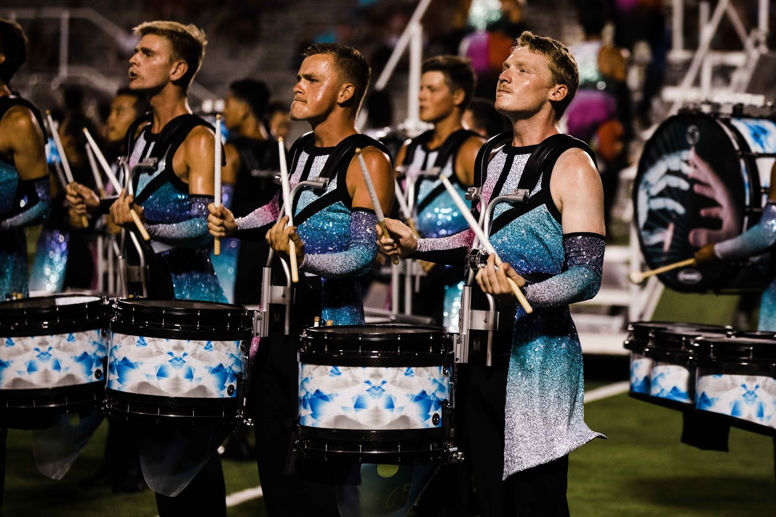 Blue Devils drumline perform at DCI Finals