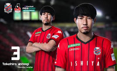 PES 2021 Faces Takahiro Yanagi by CongNgo