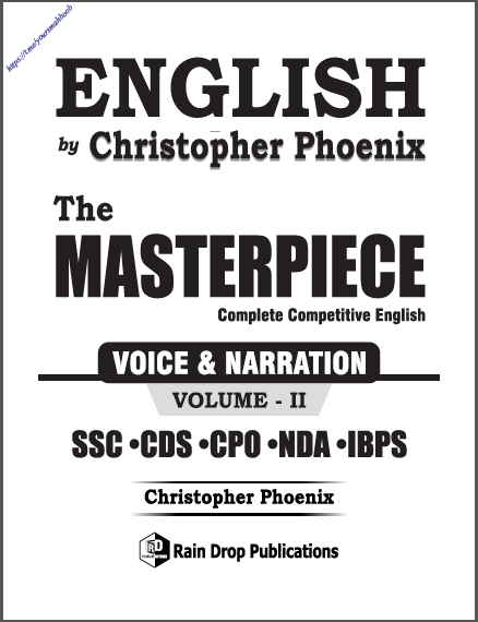English The Masterpiece Vol- 2 : For All Competitive Exam PDF Book