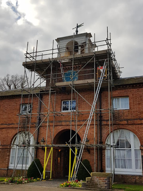 scaffold for listed buildings