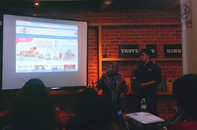 Workshop tentang vlogging disponsori oleh Gerai CNI