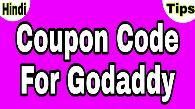 Coupon Code for Godaddy