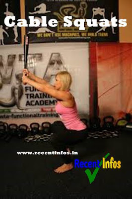Cable Squats Including other Best Workout Moves