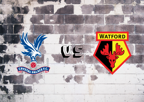 Crystal Palace vs Watford  Resumen