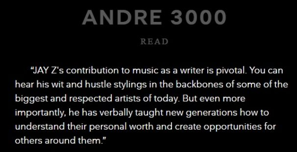 Andre 300 Respect Jay Z's Induction Into Songwriter's Hall Of Fame