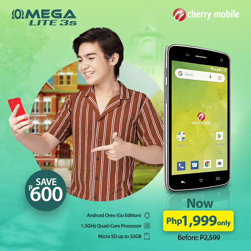 Deal: Cherry Mobile Lite 3s now down to PHP 1,999