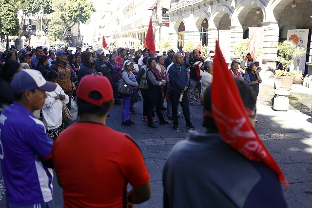 Antorcha amenaza con manifestaciones