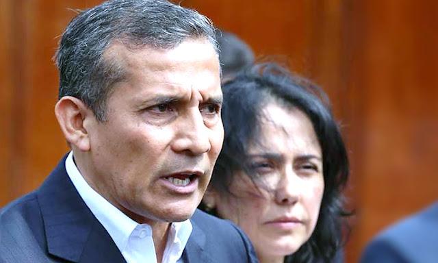 Ollanta Humala Tasso y Nadine Heredia