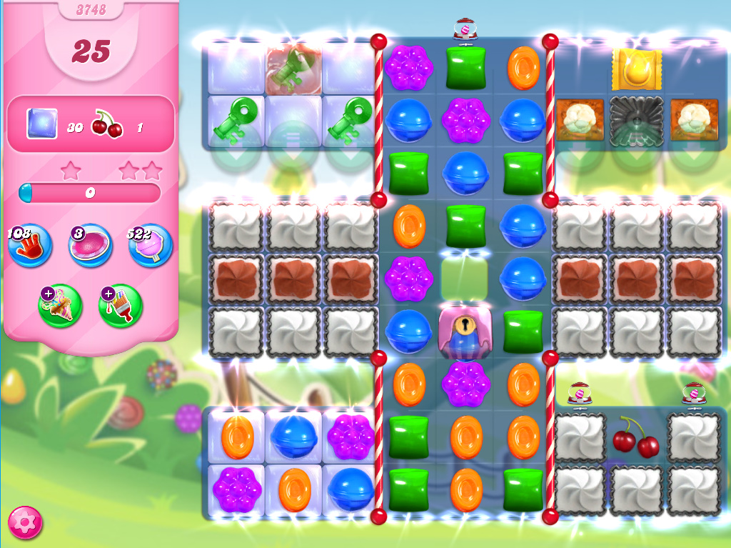 Candy Crush Saga level 3748