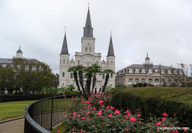 Nova Orleans: Catedral de São Luís, Cabildo e Presbitério