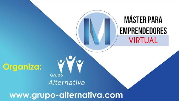 Participa gratis en el Master Virtual para Emprendedores