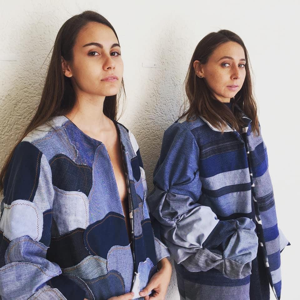 Chaquetas de Weñi Tue marca de vestuario desde upcycling