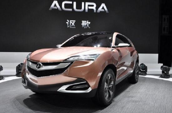 2018 Acura CDX Design