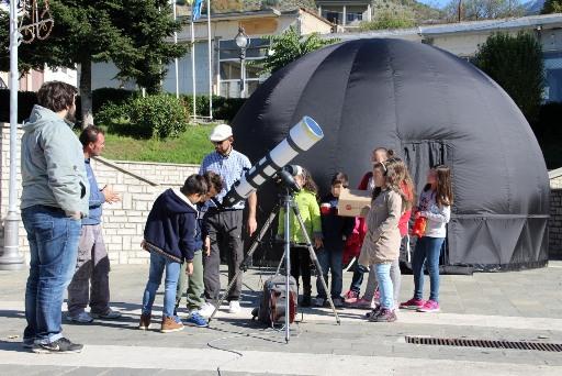 Πιο κοντά στον ουράνιο θόλο φέρνει ο Δήμος Ναυπλιέων τους μαθητές