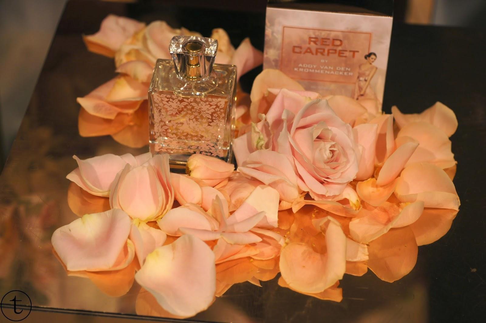 nieuwe parfum van addy van den krommenacker red carpet