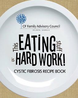 Image: Cystic Fibrosis Recipe Book