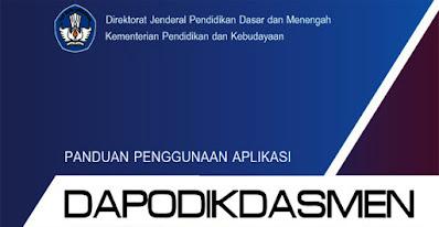 Buku Panduan Aplikasi DAPODIKDASMEN Versi 2019.e