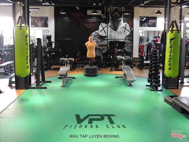3. Phòng gym quận 5 giá bình dân VPT Fitness 3.