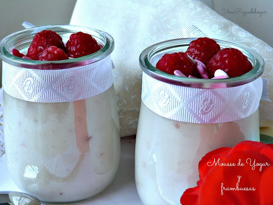 receta mousse yogur