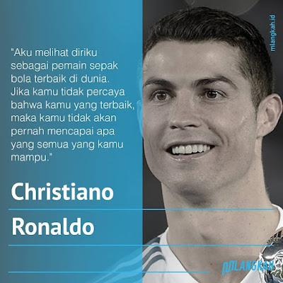 Kata kata Bijak Christiano Ronaldo tentang Perjalanan sukses