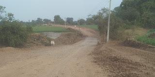 रोड निर्माण एजेंसी द्वारा की जा रही मनमानी