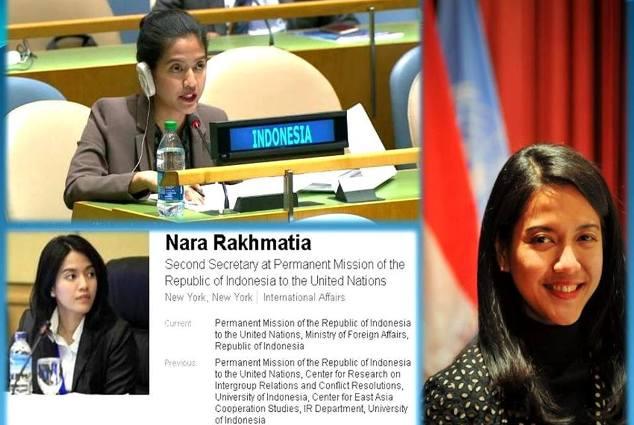 """Nara Masista, Diplomat Cantik Indonesia """"Tampar"""" 6 Pemimpin Negara Di Sidang PBB"""