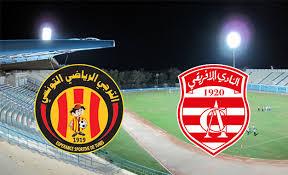 Club africain vs esperance ,مشاهدة مباراة الترجي الرياضي و النادي الإفريقي , الرابطة التونسية المحترفة الأولى