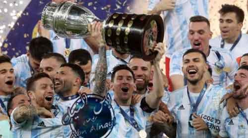 اهداف مباراة البرازيل والارجنتين في نهائي كوبا أمريكا ملخص