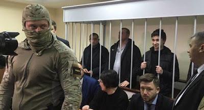 Росія не збирається відпускати українських моряків і кораблі