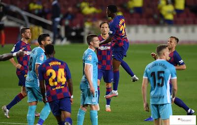 برشلونة يعزز صدارته للدوري الإسباني بتغلبه على ليغانيس بهدفين دون رد