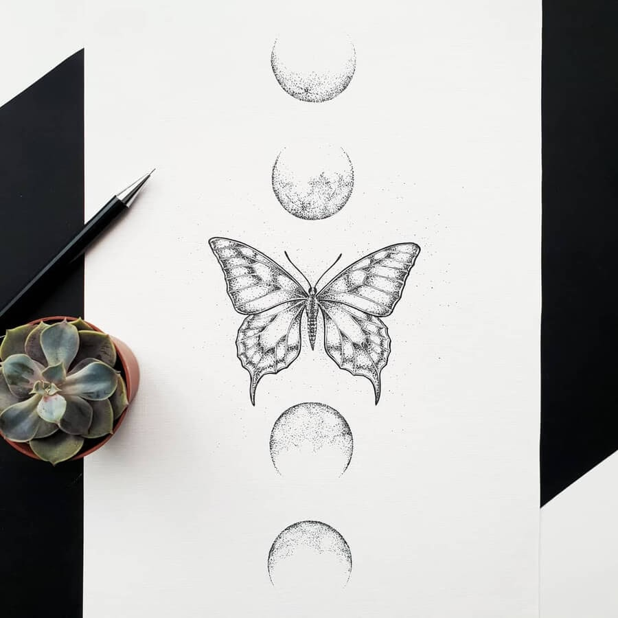 11-Butterfly-and-the-moon-Marina-Tim-www-designstack-co