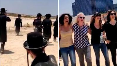 Mulheres cantam e  botam Atra Kadisha para correr