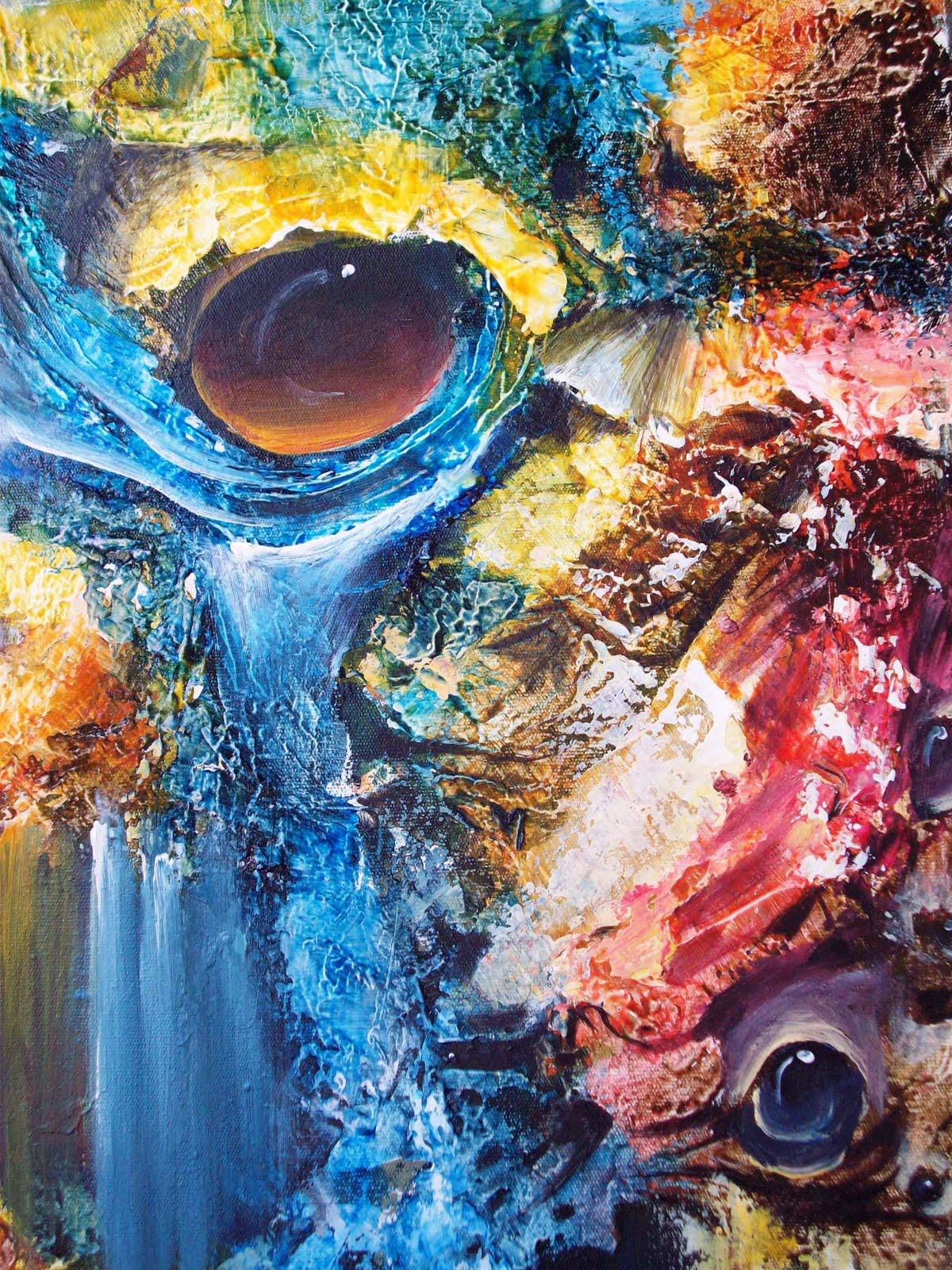 Fiona S Space Contoh Lukisan Abstrak