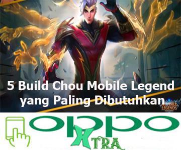 5 Build Chou Mobile Legend yang Paling Dibutuhkan