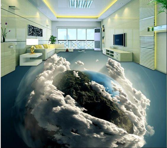 Sàn 3D bầu trời