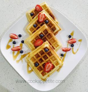 Perfectly Homemade Waffles recipe