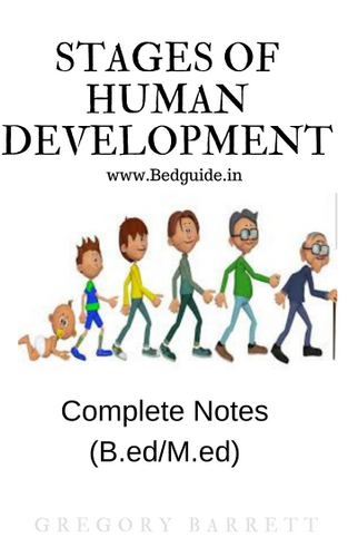 Stages of Human Development B.ed Notes PDF